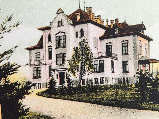 Das Gebäude 1902