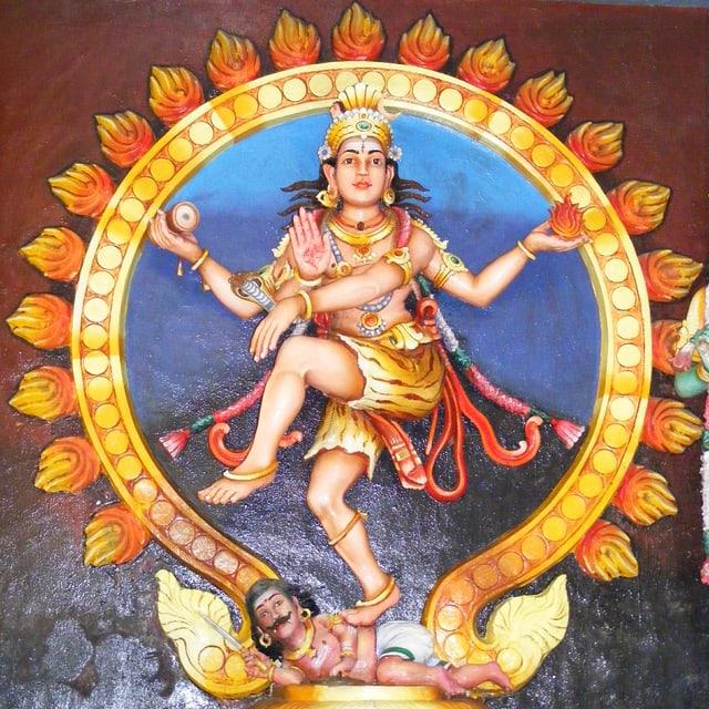 Ein Bild von Shiva.