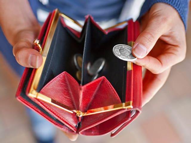 Wenig Geld im Portemonnaie: Im letzten Jahr schafften deutlich weniger Menschen den Schritt aus der Sozialhife heraus.