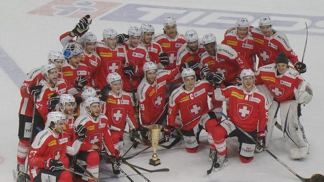 Giugaders da hockey svizzers.