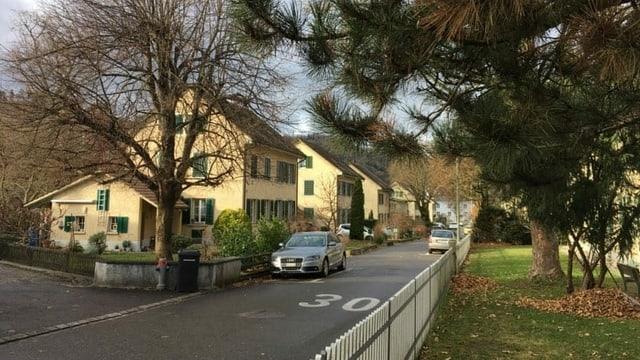 Blick auf die Rietersiedlung in Winterthur