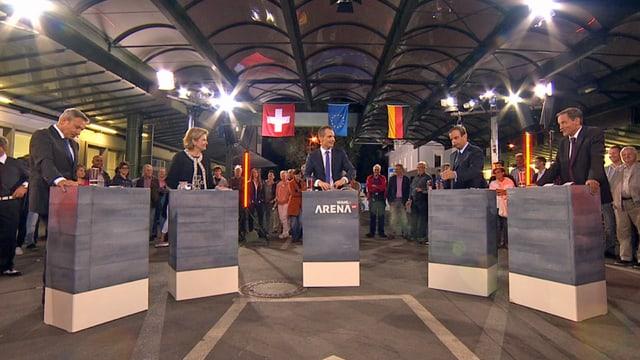 «Wahl-Arena»: «Das Bild des toten Buben brach mir das Herz» (Artikel enthält Video)