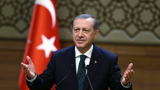 Il president da la Tirchia, Recep Tayyip Erdogan.