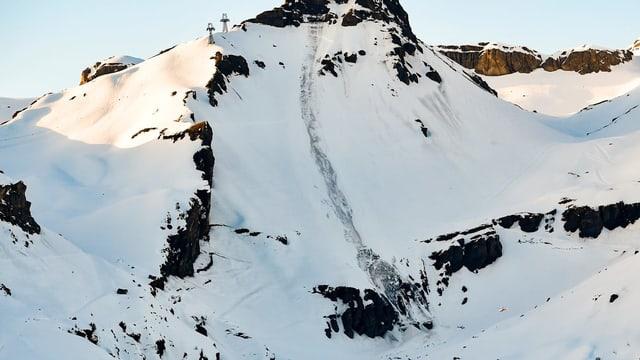 La lavina da Crans-Montana.