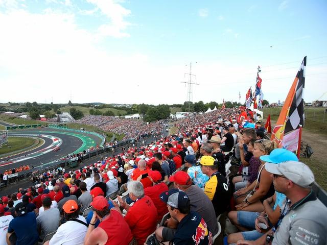 Fans Hungaroring