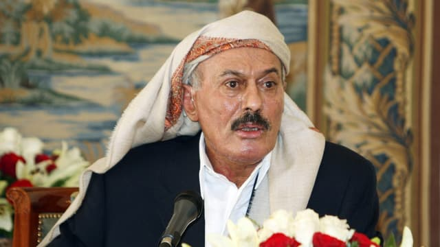 Jemens Ex-Präsident Ali Abdullah Saleh.