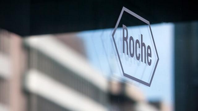 Purtret dal logo da Roche.