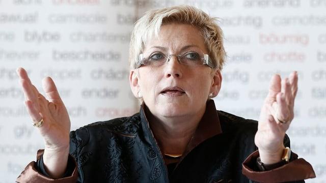 Finanzdirektorin Beatrice Simon muss eine Steuerstrategie vorlegen.