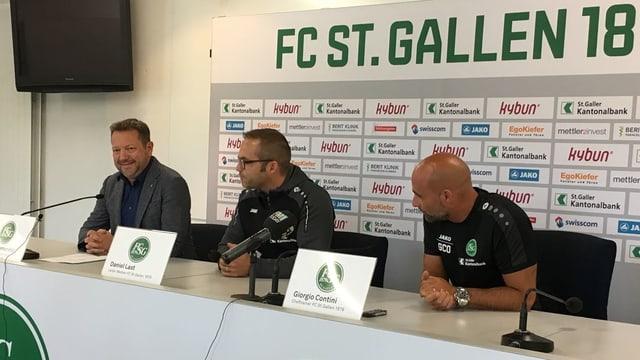 Stefan Hernandez, Daniel Last, Giorgio Contini