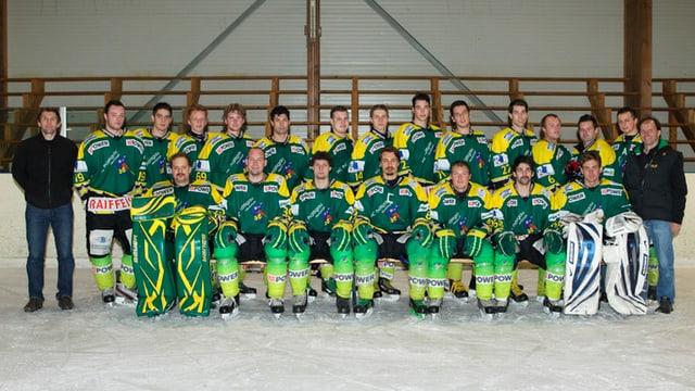 Il club da hockey da Signuradi Partenz.