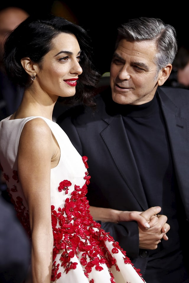 George Clooney verliebt in seine Amal