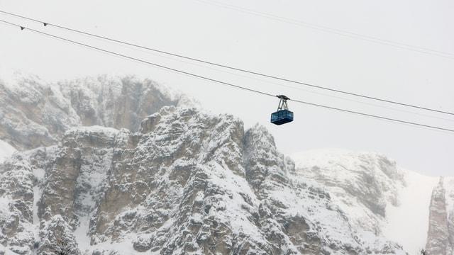 Schneefälle in Cortina verhinderten am Donnerstag ein Training.