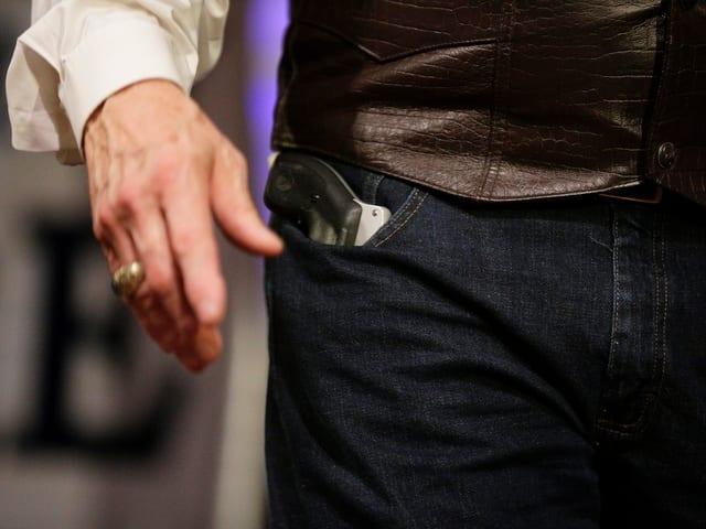 Waffe von Moore.