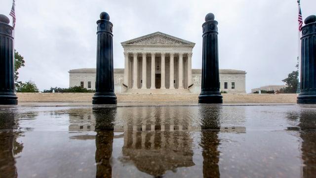 Der Oberste Gerichtshof der USA in Washington.