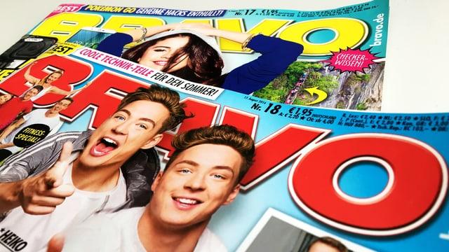 Cover der aktuellen «Bravo»