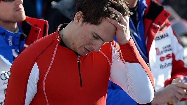 Carlo Janka ist nach seinem frühen Out in Adelboden ratlos.