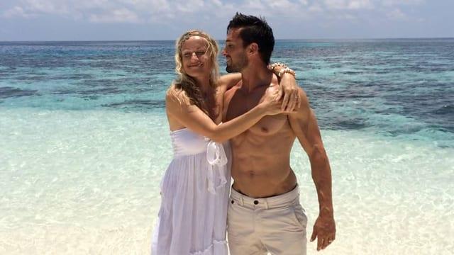 Simone Bargetze und David Catudal