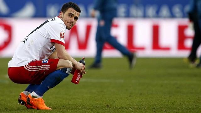 Filip Kostic vom HSV ist enttäuscht