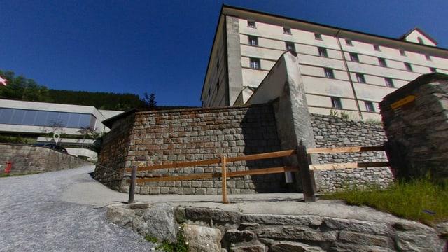 Klosterschule Disentis - Aussenansicht