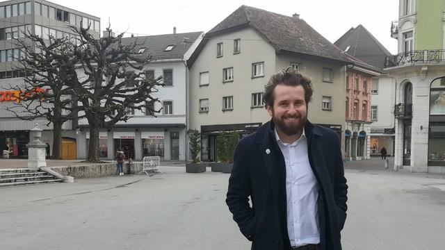 Darko Bosnjak, Co-Präsident von «Gewerbe Olten».