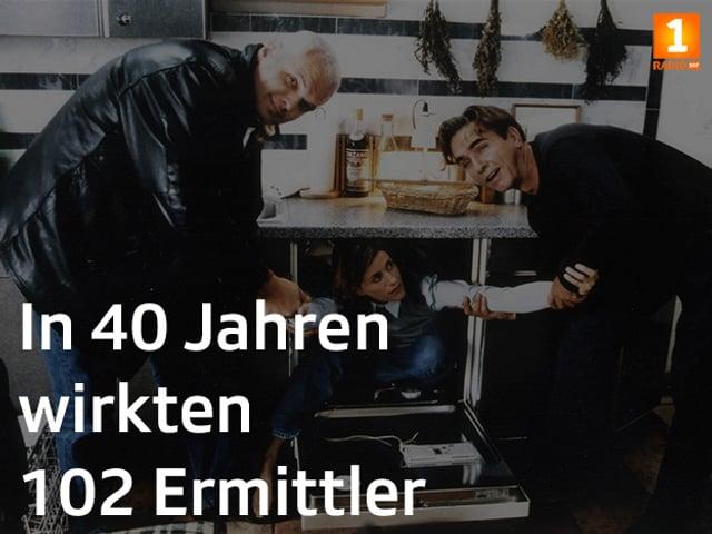 Tatort Fakt: «In 40 Jahren wirkten 102 Ermittler».