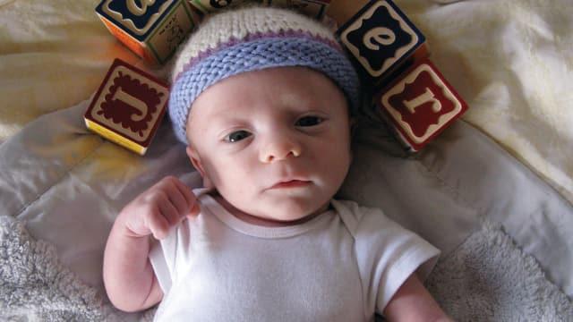Ninas Sohn Jasper. Für sie war immer klar, dass sie auch ohne Mann ein Baby bekommen wollte.