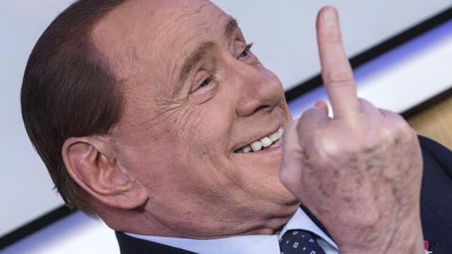 Der italienische Medienzar Silvio Berlusconi.