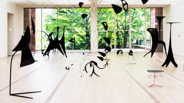 Calder in der Fondation Beyeler.