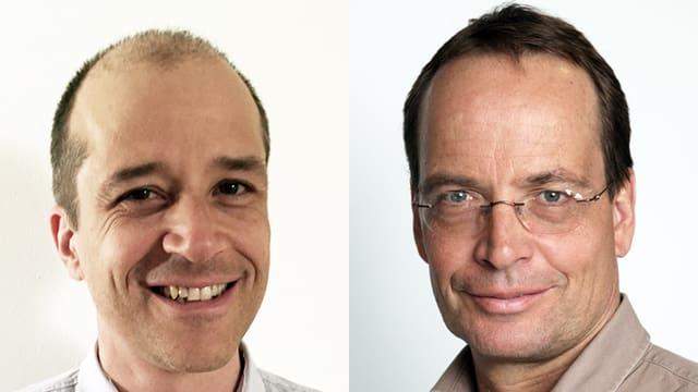 Porträts der beiden Chat-Experten.