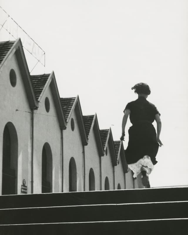 Laufmädchen in der Maschinenfabrik Oerlikon, 1934.