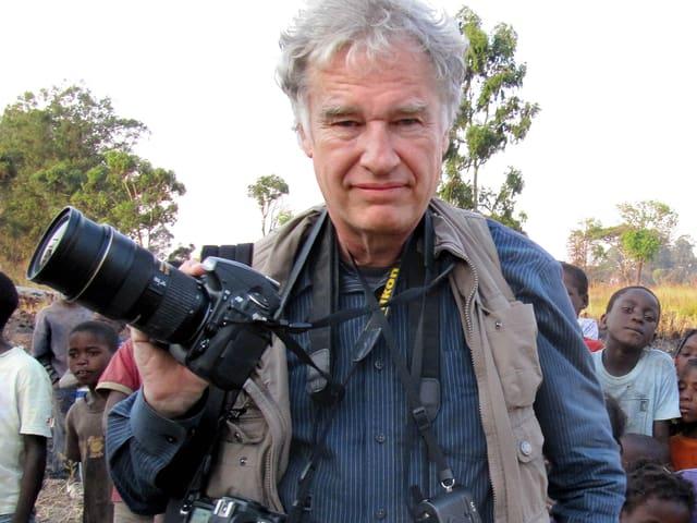 Mit seinem Foto eines Demonstranten, der sich 1989 auf dem Platz des Himmlischen Friedens in Peking den Panzern entgegenstellte, wurde AP-Fotograf Jeff Widener weltberühmt.