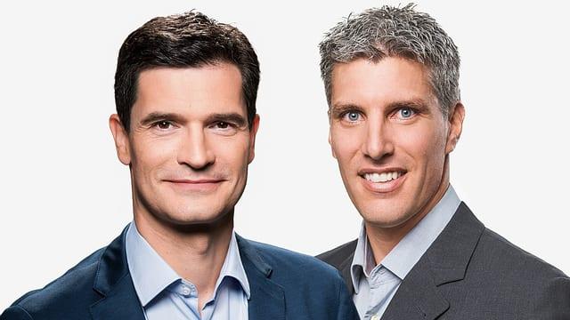 Stefan Hofmänner und Christof Baer im Porträt.