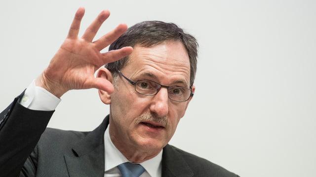 Portrait des Zürcher Sicherheitsdirektors Mario Fehr.