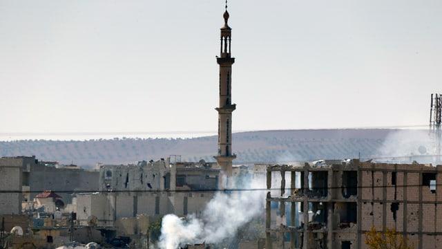 Das östliche Stadtviertel von Kobane im November 2014
