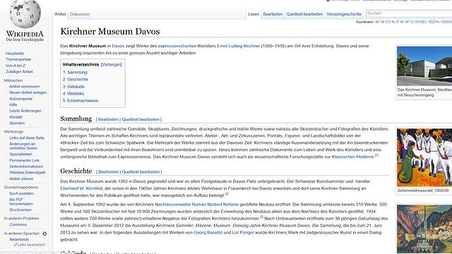 In extract da las infurmaziuns ch'ins chatta sin Wikipedia.