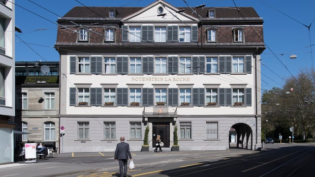 Der Hauptsitz der Privatbank in St. Gallen.
