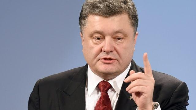 Purtret da Petro Poroschenko.