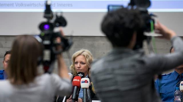 Pressekonferenz Mordfall Rupperswil