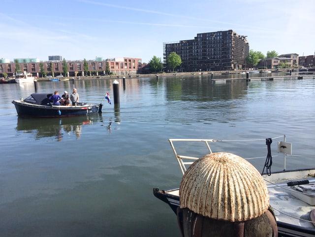 Hafenviertel in Amsterdam.