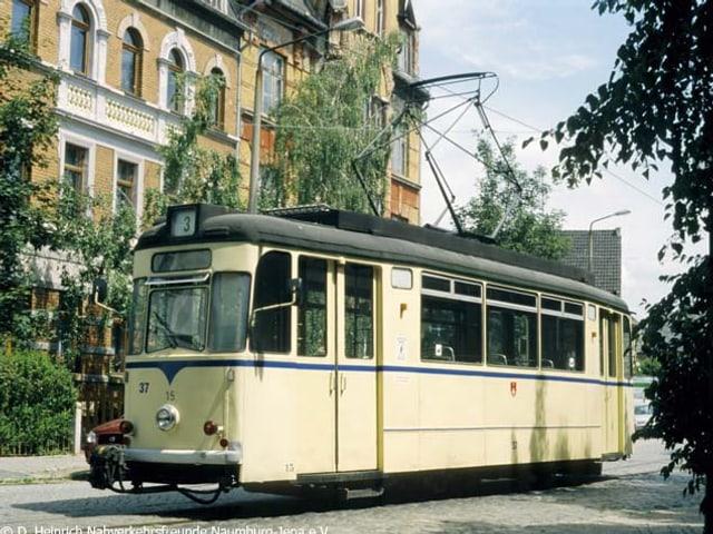 Die Naumburger Strassenbahn heute.