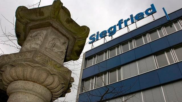 Der Hauptsitz des Pharmaherstellers Siegfried in Zofingen.