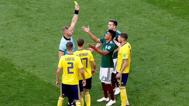 Schnellstes Gelb der WM-Geschichte