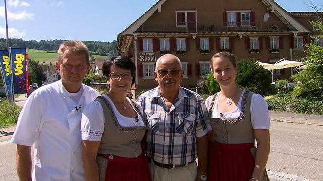 Video «Kanton Aargau – Tag 1 – Gasthof Rössli, Beinwil» abspielen