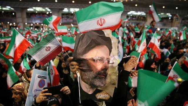 Anhänger von Hassan Ruhani.