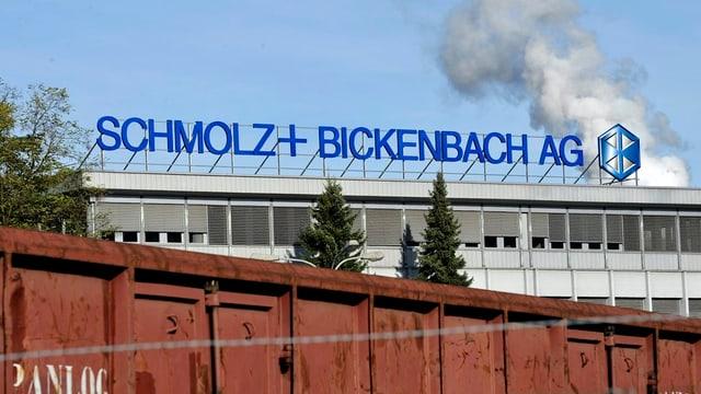 Der Firmensitz von Schmolz+Bickenbach