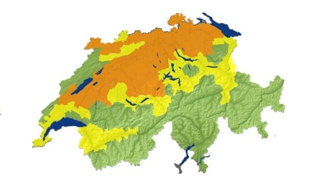 Vorhersage der Boden- und Hüttenfrostgefahr im Mittelland am Juranorfuss und in der Region Basel.