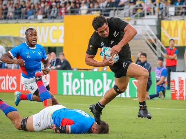 Namibia im Spiel gegen Neuseeland.