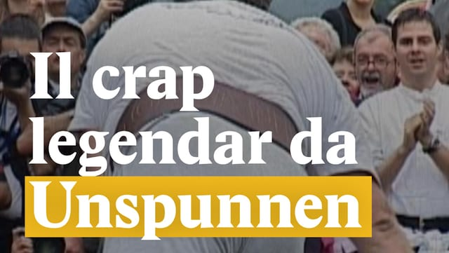 Laschar ir video «Il crap legendar da Unspunnen»