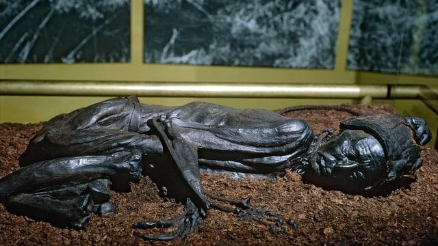 Schwarze männliche Mumie