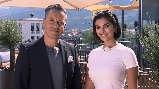 Video «Kanton & Stadt Luzern – Tag 2 – Restaurant Suite Rooftop, Luzern» abspielen
